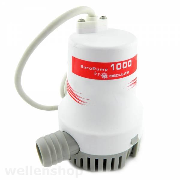 Osculati Bilgenpumpe Wasserpumpe 24V 3850 l/h bild 1