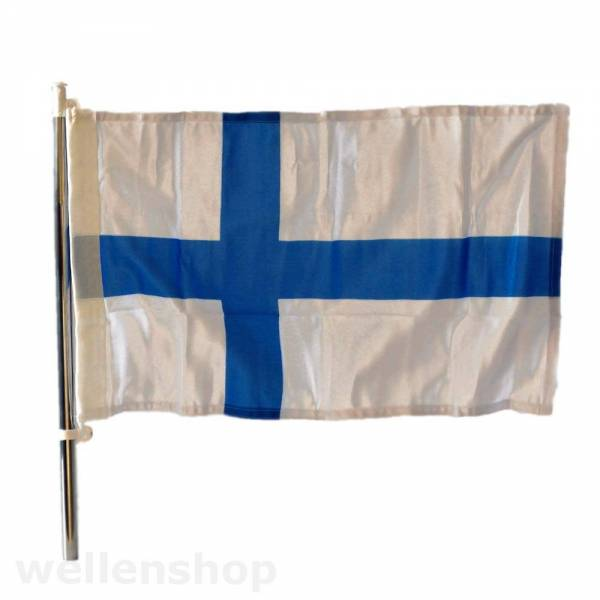 Flagge Finnland 30 x 45 cm Bild 1