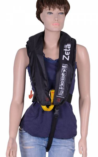 Lalizas Rettungsweste Zeta 290N Erwachsene ab 40kg Brustumfang 70 - 150 cm Bild 2