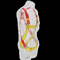 2-Punkt Auffanggurt Sicherheitsgurt Gelb / Orange Lifebelt Fanggurt geschirr fallgurt