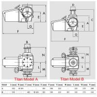 Lofrans Titan Ankerwinde Model A 14 mm Kette bild 3