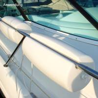 Ocean Relingfender Clip-On Bootsfender Modell A4 60 cm Weiß Bild 4