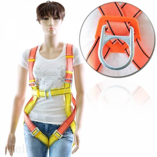 2-Punkt Auffanggurt Sicherheitsgurt Gelb / Orange Bild 1