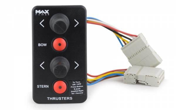 Max Power Joystick-Steuerung f. Bugstrahlruder / Heckstrahlruder Schwarz Bild 1