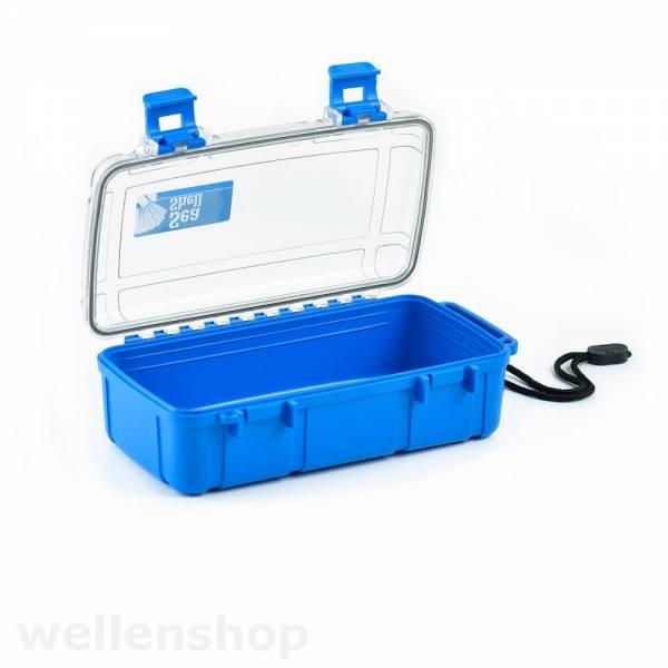 Aufbewahrungsbox blau 224 x130 x 70  mm Bild 1