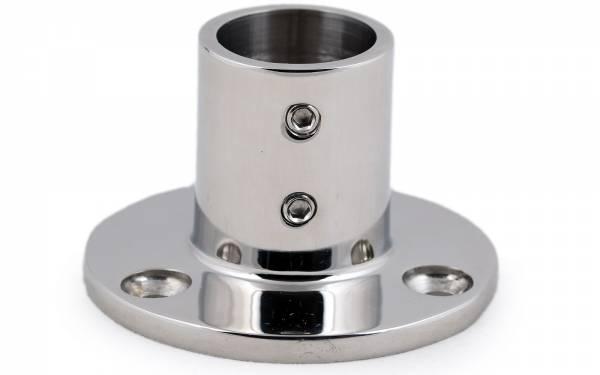 Relingfuß für 25 mm Rohr Bild 1
