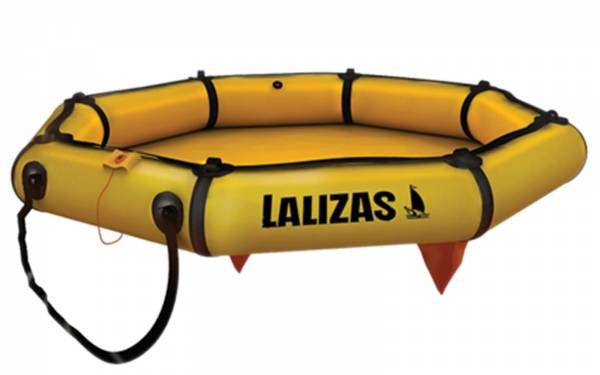 Lalizas Rettungsinsel Leisure-Raft ohne Dach für 4 Personen Bild 1