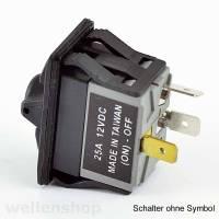 12V LED Kippschalter Bedienpanel Echolot Bild 6