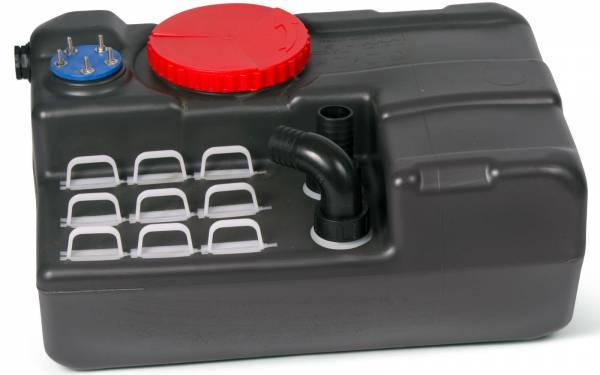 Nuova Rade Abwasser-Tank Blizzard 40 Liter Kunststoff schwarz Bild 1