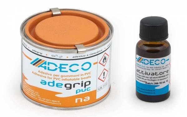 2-Komponenten-Schlauchboot-Kleber Set für PVC / Vinyl + Aktivator Bild 1