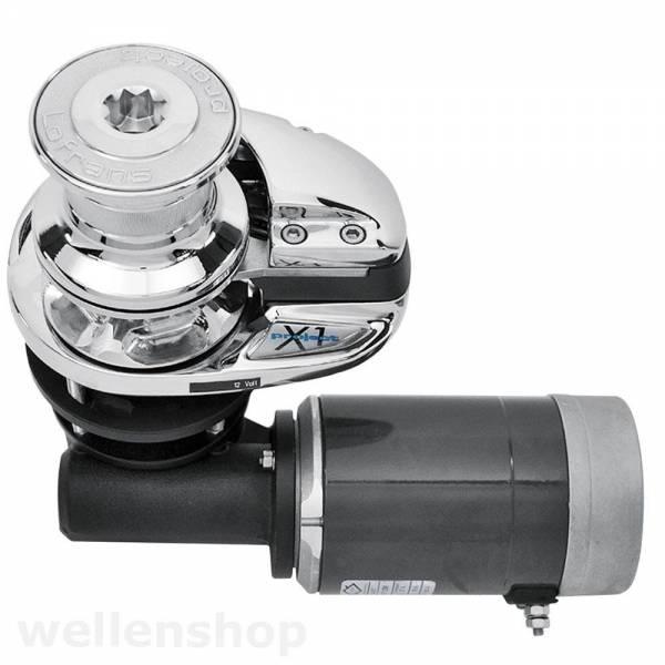 Lofrans X1 Ankerwinde vertikal mit Spill Ø 10 - 12 mm Kette Aluminium 500W 12 V bild 1