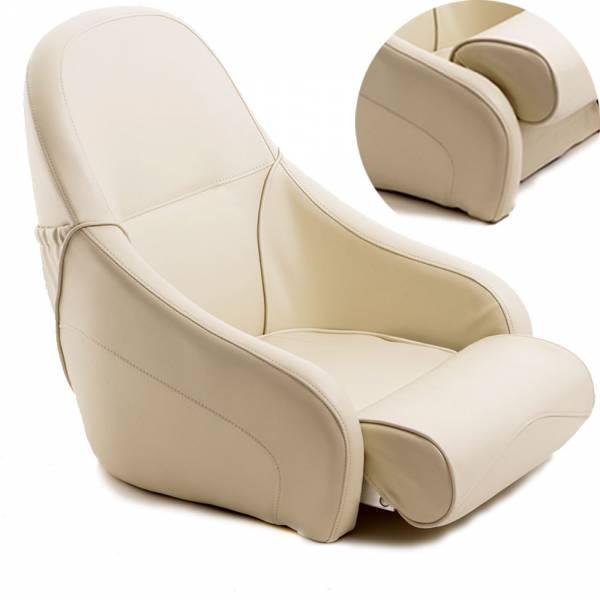 Bootssitz Flip-up Sitz weiß / creme Bild 1