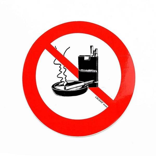 Aufkleber Rauchverbot Bild 2
