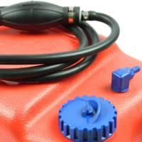 Benzintank 12 Liter + Schlauch Benzinschlauch Pumpball Motor Tank Zusatztank Bild 2