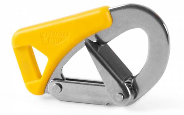 Karabiner-Haken für Sicherheitsleine Life-Link Hook für Sorgleine ISO 12401 Bild 1