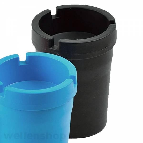 Aschenbecher Kunststoff Schwarz Bild 1
