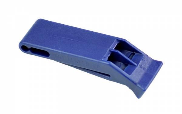 Signalpfeife ISO & SOLAS blau Bild 1