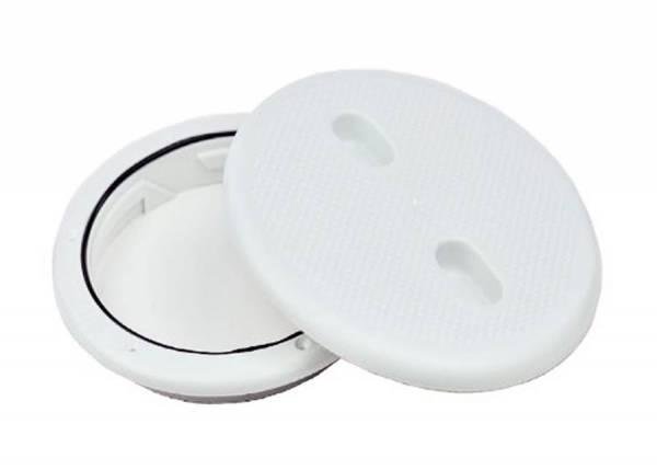 Inspektionsdeckel 205 mm Weiß Bild 1