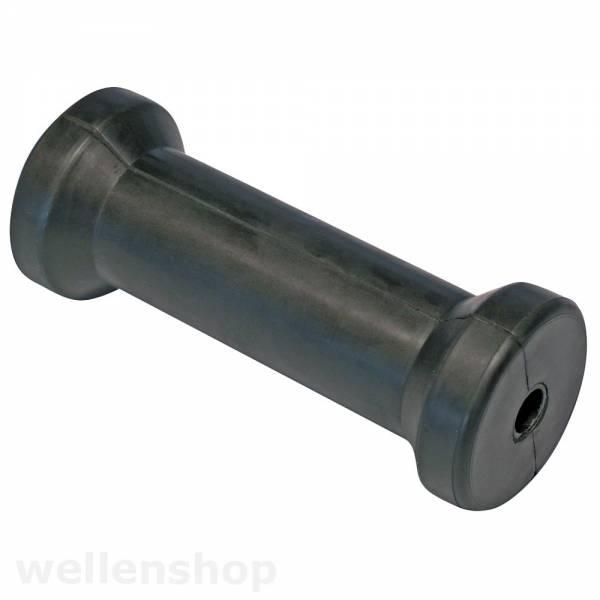 Mittelrolle Kielrolle 130 mm Gummi Bild 1