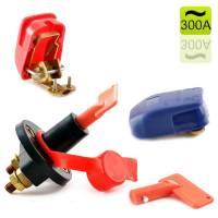 12V Batteriehauptschalter 300A + Batterieschnellklemmen