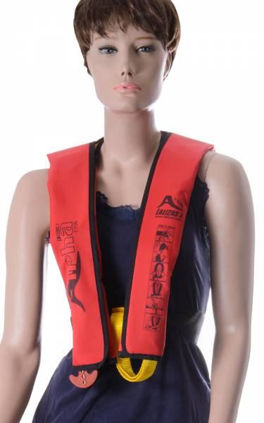 Lalizas Rettungsweste Alpha 170N manuelle Auslösung ab 40kg rot Bild 1