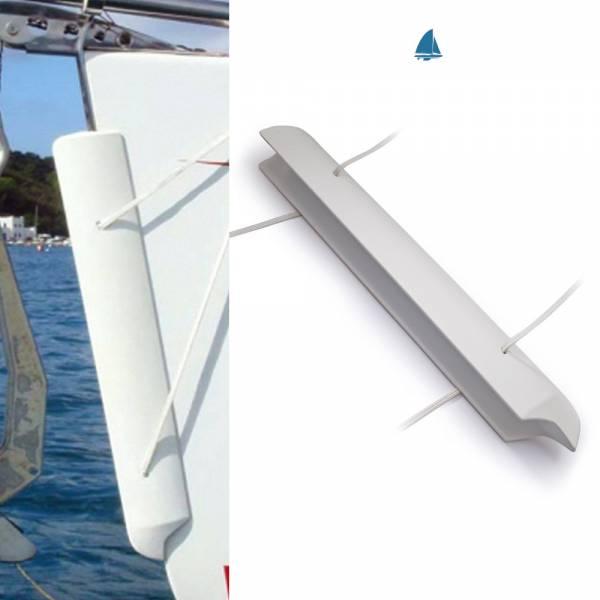 Ocean Bugfender Kunststoff (Polyurethan) max. Bugbreite 7cm weiß bild 1