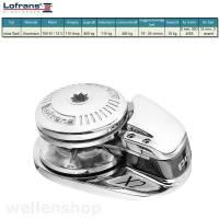 Lofrans X2 Ankerwinde Ø8mm Kette Aluminium ohne Spill 700W 12V bild 2