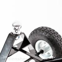 Handtrailer mit Kupplungskugel für Bootsanhänger bis 270 kg