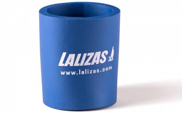 Iso-Getränkehalter Isolierung Isotherm Schaumstoff Blau für Kaltgetränke / Warmgetränke Bild 1