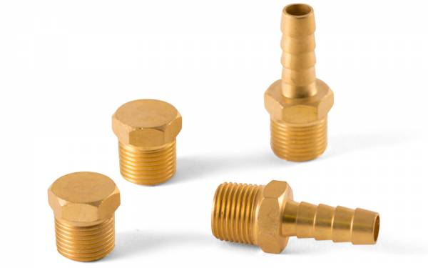 Stecker für Benzinfilter Messing 4-teiliges Set Bild 1