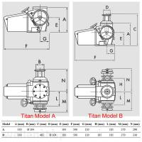 Lofrans Ankerwinde Titan Model-A 12 mm Kette mit Spill 2300W 24V bild 3