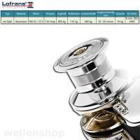 Lofrans X2 Ankerwinde Ø6mm Kette Aluminium mit Spill 700W 12V bild 2