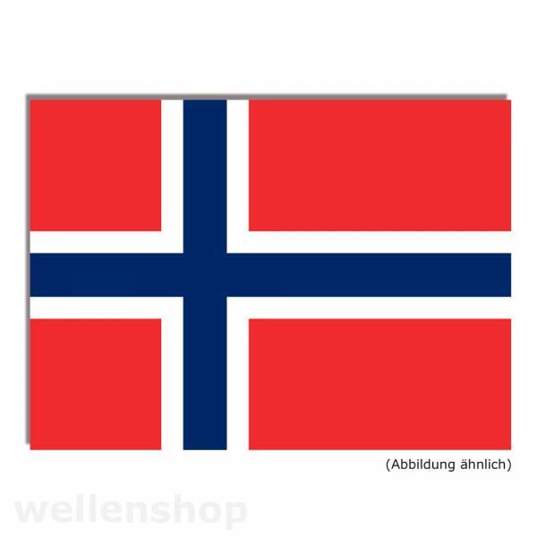 Flagge Norwegen 50 x 75 cm Polyester UV-beständig Bild 1
