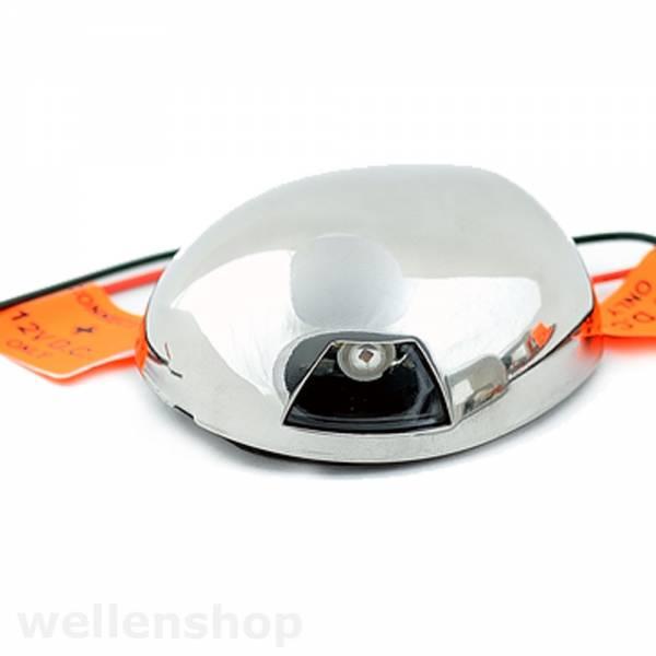 LED Backbordlaterne 112,5° Rot 12V Edelstahl bild 1