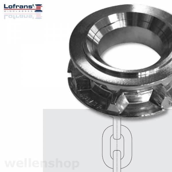 Lofrans Kettennuss 8 mm DORADO ISO 4565 / DIN 766 Bild 1