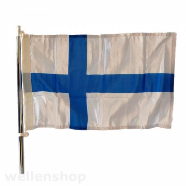 Flagge Finnland 30 x 45 cm Polyester UV-beständig Bild 1