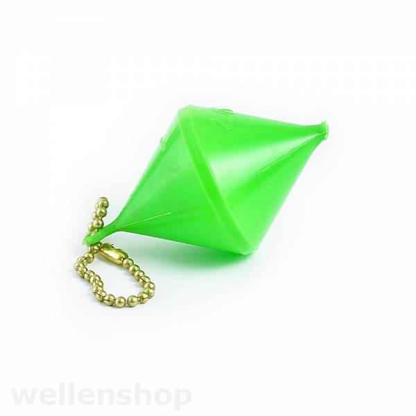 Schlüsselanhänger Boje bikonisch Grün Bild 1