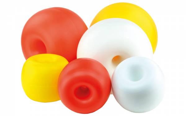 Boje Schwimmkörper Hostalen-Kugel Donut f. Schwimmleine Orange Ø260 mm Bild 1