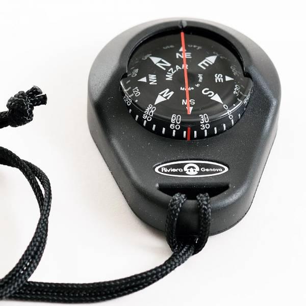 Riviera Handkompass Peilkompass Schwarz Bild 1