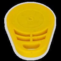 Riviera Peilkompass Bootskompass Kompass Handkompass gelb