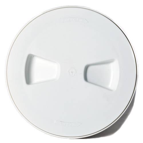 Inspektionsluke Rund 165 mm Kunststoff Weiß Bild 1