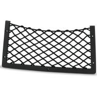 Ablagenetz Elastisch 415 x 210 mm mit Rahmen Kunststoff Schwarz Bild 6