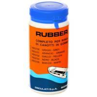 Schlauchboot Reparatur-Set Orange für Neopren / Gummi