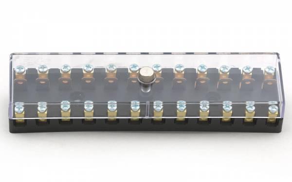 12 Volt Sicherungskasten für 12 Keramik Sicherungen Bild 1