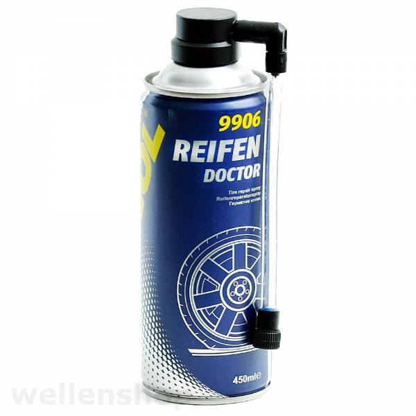 MANNOL Reifenreparaturspray 9906 450ml Bild 1