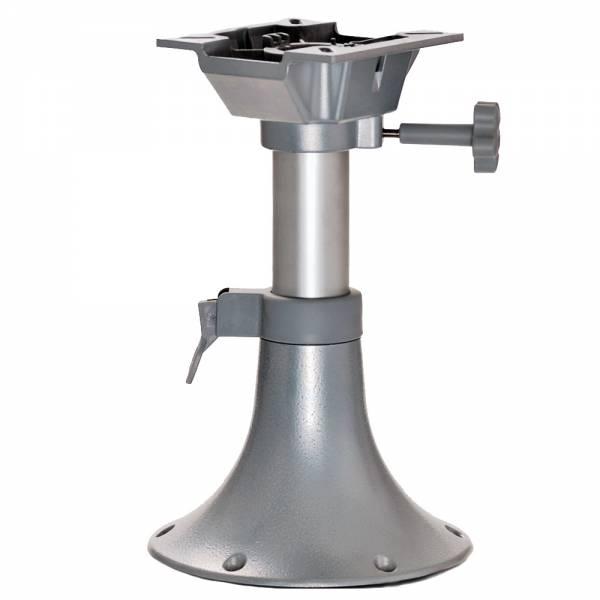 Sockelfuß Pedestal für Bootssitz höhenverstellbar 330 - 435 mm Bild 1