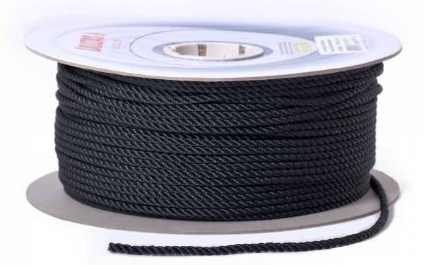 Ankerleine Festmacher Leine 200 m ∅14 mm dreifach geschlagen schwarz Bild 1
