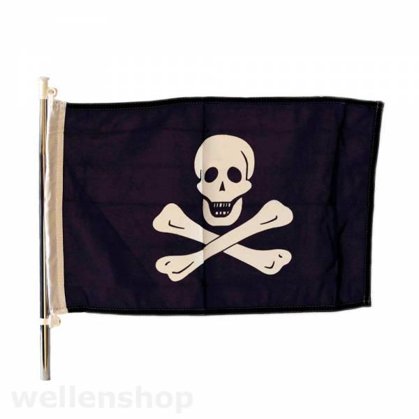 Piratenflagge 30 x 45 cm Bild 1