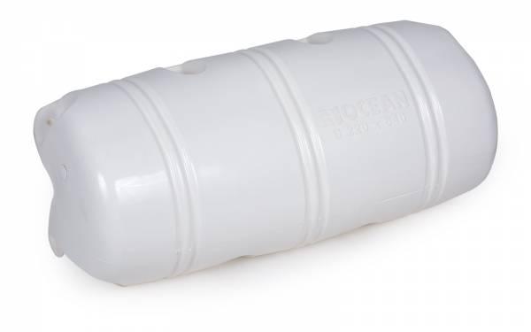 Ocean Dock Fender Stegfender 220 x 640 mm 3/4 Form Kunststoff weiß Bild 1