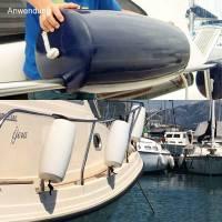 Ocean Relingfender Clip-On Bootsfender 46 cm Navyblau Bild 3